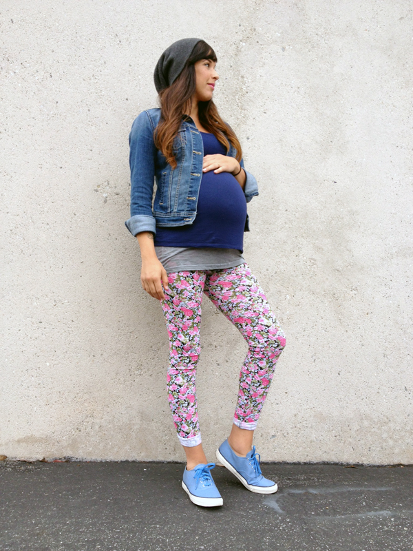 Maternity Street Style via MyCornerView